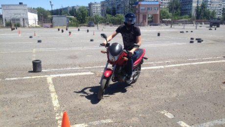 обучение на мотоцикл