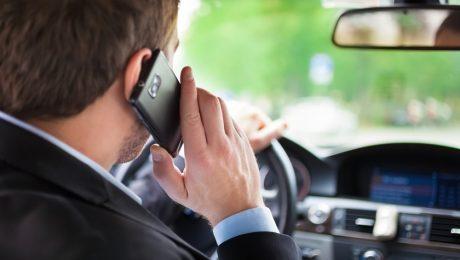 штраф за разговор по телефону