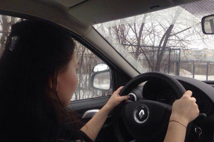вождение автомобиля для начинающих