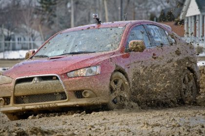 вождение по грязи