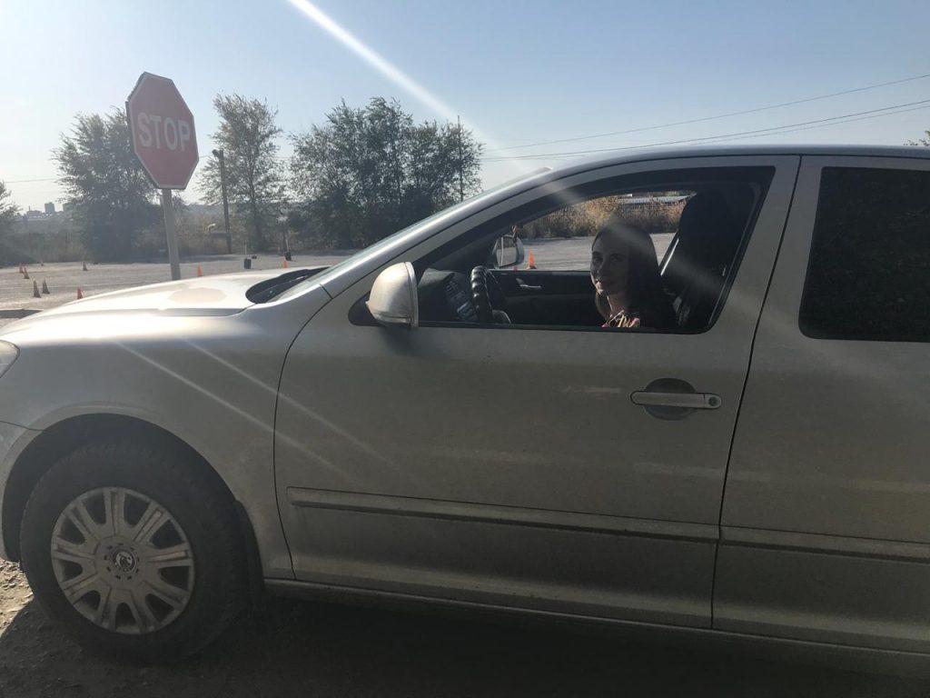 опытный водитель