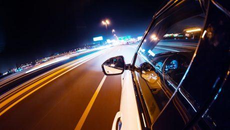 вождение по трассе